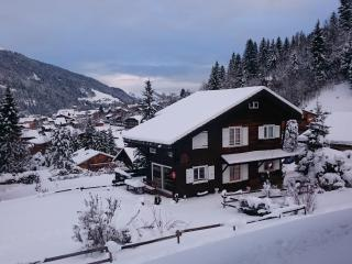 Lovely vintage chalet-next to nursery slope, Les Contamines-Montjoie
