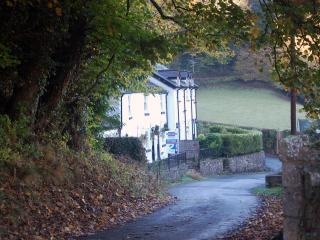 River Cottage in peaceful  valley in North Wales, Colwyn Bay