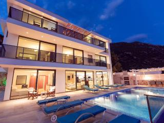 Rental luxury villa in Kalkan with oceanview