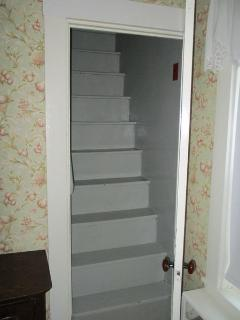 Careful of steeper risers going up to second floor - 38 Pleasant Street Harwich Port Cape Cod New England Vacation...