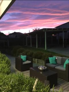 If you are really lucky you may just catch one of our gorgeous sunsets!....