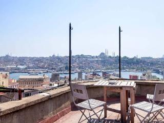 Galata Flat With Amazing Sea View Terrace