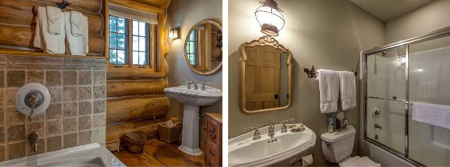 Beautiful Bathrooms throughout the home