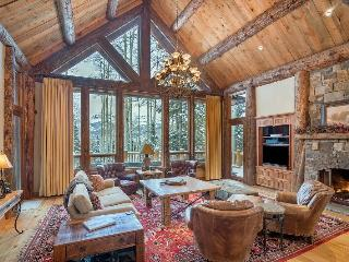 Experience the privacy and luxury of this classic vacation home in Telluride`s Mountain Village