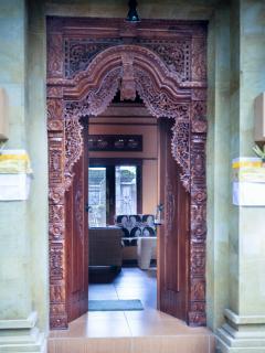 Entrance, Sawo Apartment 1, Murni's Houses , Ubud, Bali