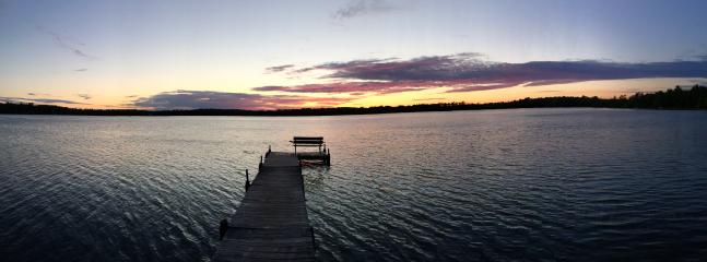 Beautiful sunsets; pretty lake