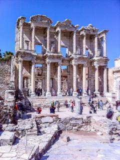 Ephesus 200km away