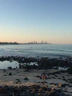 Burleigh Heads (15 mins away)