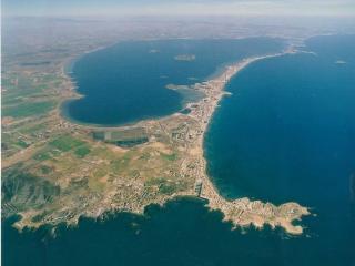 Yates en La Manga del Mar Menor
