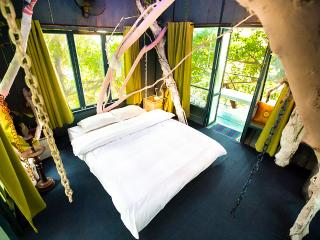 Sky Tree House Bed Room Filled with sun light and nature