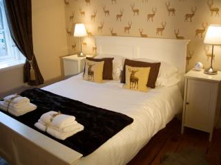 Stylish Scottish themed bedroom