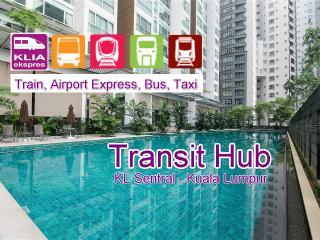 Luxurious Apt in KL City, 7pax, Train & WiFi, Kuala Lumpur