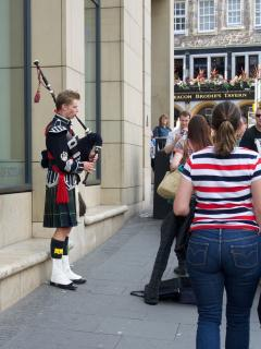Not complete without the Bagpipes
