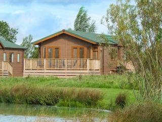 HARVESTER LODGE, ground floor lodge, en-suite, lovely location in Hewish near