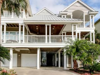 Luxury dog-friendly home with a private pool, tiki bar, & hot tub!