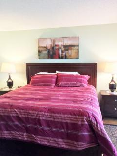 Brand New King Bed in Master Bedroom!