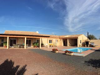 Chalet con piscina 'Villa Oliva', Gran Tarajal