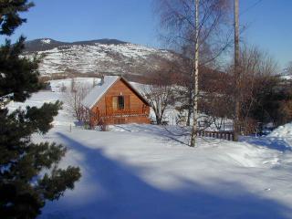 chalet en pleine nature pres pistes de ski