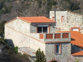 Maison et terrasse côté Sud
