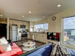 Nautical, dog-friendly studio with amazing views, close to Pioneer Square!, Seattle