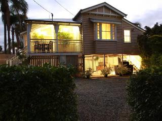 2 bedroom traditional timber Queenslander cottage.