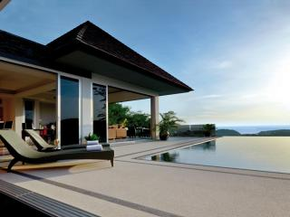 Luxury sea-view villa, 3-br. Layan, Cherngtalay