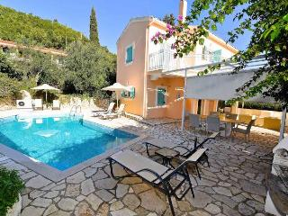 3 bedroom villa CICADA with pool in KALAMI CORFU, Kalami