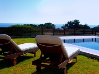 Gennadi beachfront pool villa for 6 persons