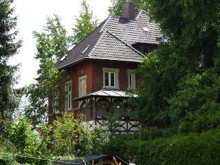 Altstadt Soest 138 qm Whg. Jugenstilvilla (8 P.) mit Terrasse und Garten