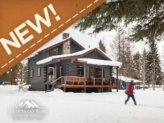 NEW! Idyllic Home on Stillwater River with 16 private acres in Whitefish!