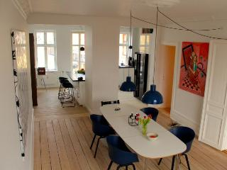 Lovely penthouse Copenhagen apartment at Noerrebro, Copenhague