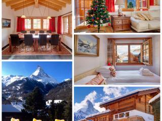 5*Chalet Ulysse 170m2 /8 Gäste/Cheminée und Sauna, Zermatt