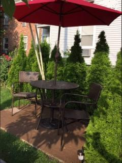 private sitting area