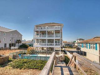Bali Sunrise Deluxe-9 BR,Oceanfront,Pool& Elevator, Carolina Beach