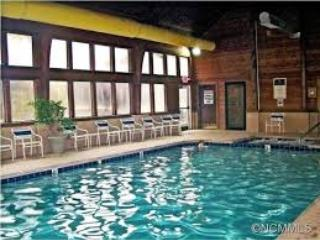 The indoor, heated pool, hot tub, and dry &n steam saunas are open year round.