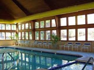 Indoor pool is perfect for cold weather or rainy days- open year round!