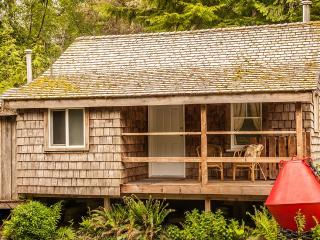 Rustic Cabin With Loft Bed And Futon Below, Tofino