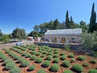 Stone dalmatian house Humac, Jelsa