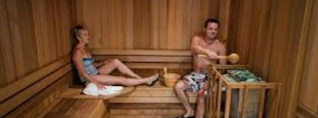 Sauna and steam rooms.