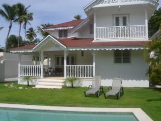 Villa Creole style Las Terrenas, 3 rooms, Samanà