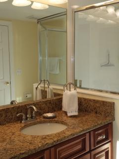 2nd Bedroom En Suite Bathroom with Walk in Shower