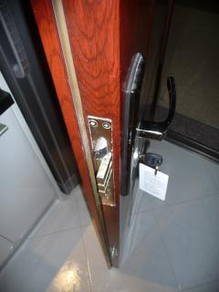 Looks of security entrance door