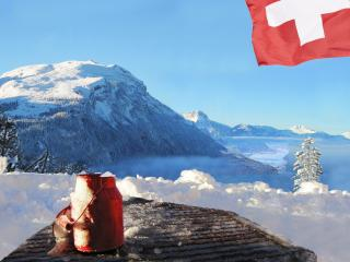 Panoramablick, Schwyz