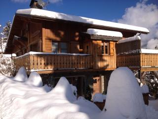 4 star luxury & spacious Garden Apt, Chalet Champetre, Meribel The 3 Valleys