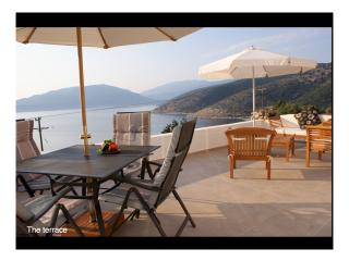 Villa with Panoramic sea views - edge of village, Agia Efimia
