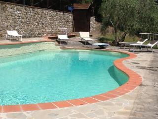 Antica villa in Chianti con piscina