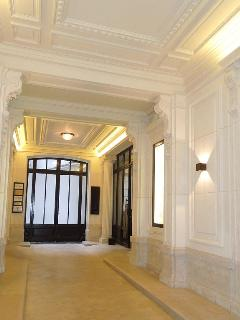 Our newly renovated marble grand entrance.