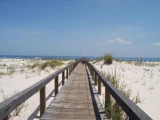 Board walk to the beach