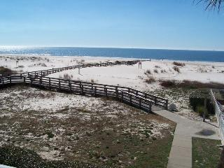 Several boardwalks to the beach