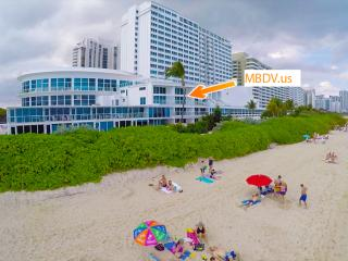 Luxurious Miami Beach Oceanfront suite, sleeps 6